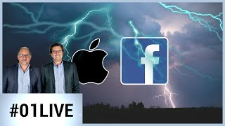 01LIVE HEBDO #212 : Rien ne va plus chez Apple et Facebook
