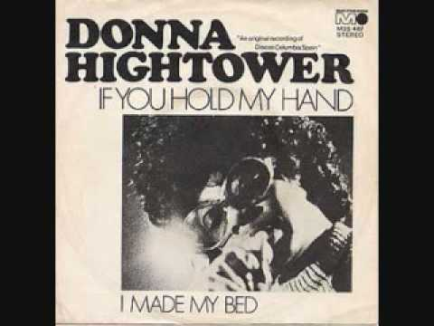 If you hold my hand - Donna Hightower