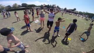 vidéo olympiades ados du Camping Calypso Torreilles