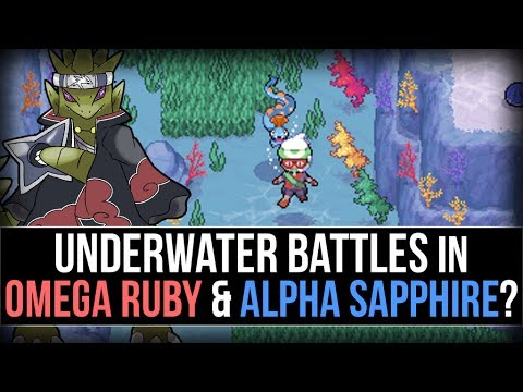 how to catch pokemon underwater in omega ruby