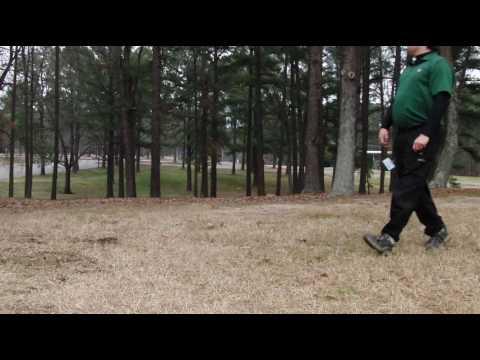RTI Disc Golf Course Hole 6