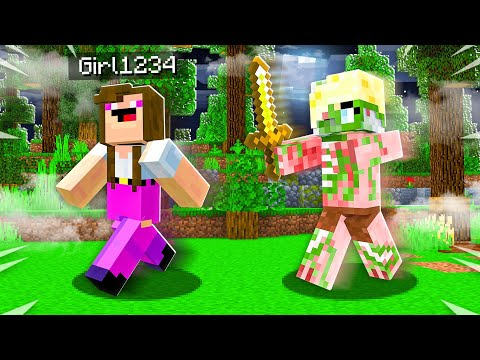 How to PRANK Noob1234's Girlfriend as a MOB! (Minecraft)