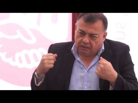 Entrevista a Víctor Báez, Secretario General de la Confederación Sindical de las Américas
