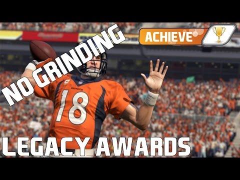EASY PEYTON MANNING LEGACY AWARD (250G) - Madden NFL 16