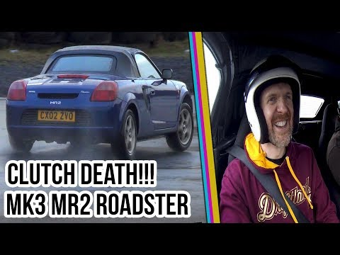 Drift My Ride Ep15  - Toyota MR2 Mk3 Roadster Clutch Death!