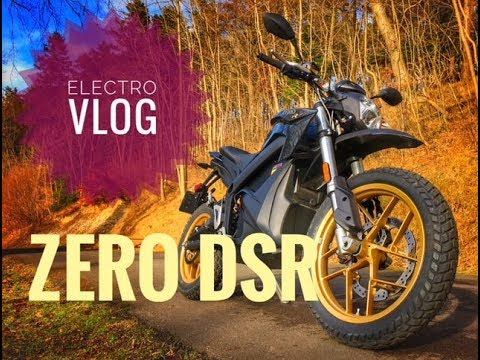 2018 Zero DSR Electric Motorcycle - Electro Vloggage