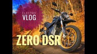 2018 Zero DSR Electric Motorcycle - Electro Vloggage