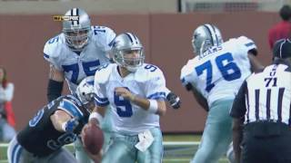 Tony Romo leads GW Drive at Detroit '07 w/Brad, Babe & Kristie