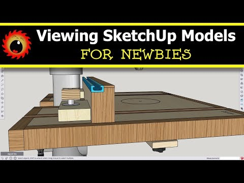 Getting Started with SketchUp | The Newbie Woodworker