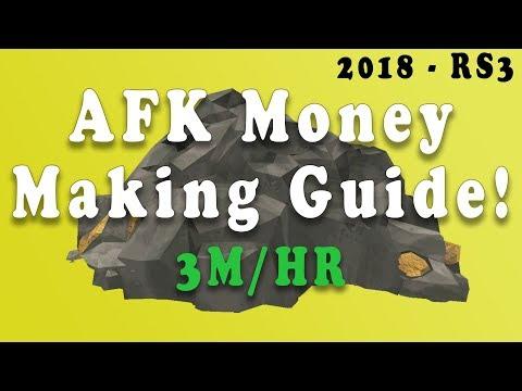 Runescape 3 - AFK Money Making Guide 3M/HR! - 2018