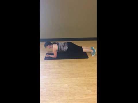 Easier Plank Form