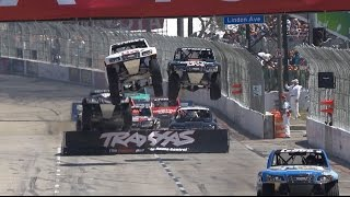 2015 Long Beach Stadium SUPER Trucks CBS Sports
