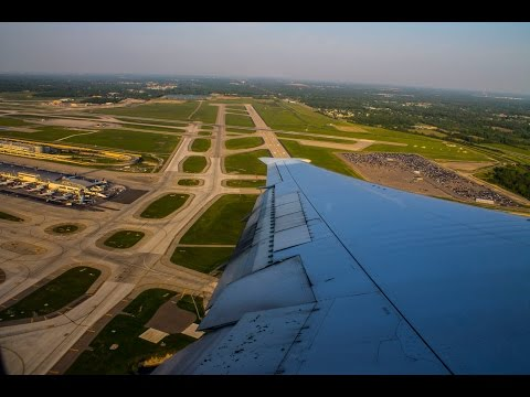 DELTA | BOEING 767-400ER | TAKEOFF from Detroit Metropolitan Wayne County Airport