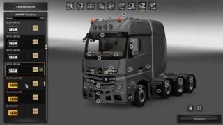 "[""Euro Truck Simulator 2"", ""ETS2"", ""SCS Software"", ""Mod"", ""Big Stars"", ""New Actros SLT"", ""Arocs SLT"", ""thundemods""]"