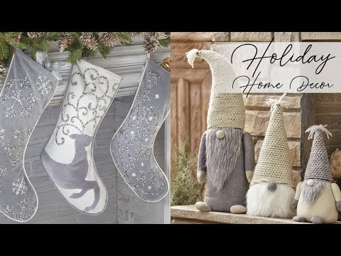 HUGE Holiday Home Decor Haul 2017! - HomeGoods, Michaels, Am