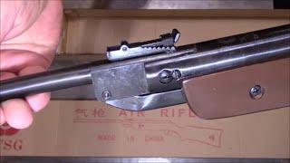 СУПЕР! XTSG  XTB1 пневматическая винтовка.(Обзор китайской пружинно-поршневой пневматической винтовки XTSG XTB1, за 35 у.е. (убитых енотов) долларов сша...., 2015-12-08T19:37:00.000Z)