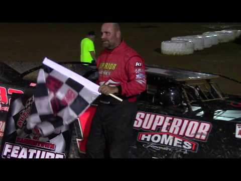 Trail-Way Speedway 358 Late Model Victory Lane 7-14-17