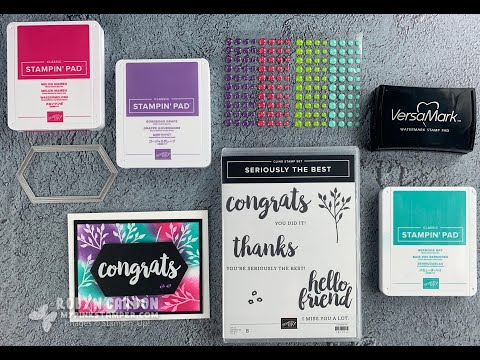 Stamping Techniques - Emboss Resist With Stampin' Up! Seriously The Best Stamp Set (EP. 756)