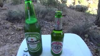 Heineken Vs Beck's Beer Review