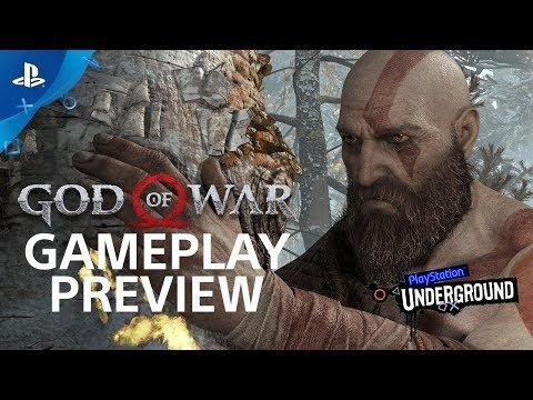 God of War: 15 Minutes of Gameplay - PS4 Gameplay Walkthrough   PS Underground