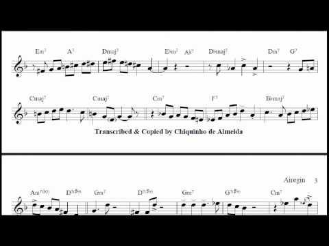 Sonny Rollins_Miles Davis_Airegin_Jazz Transcriptions_sax & trumpet.wmv