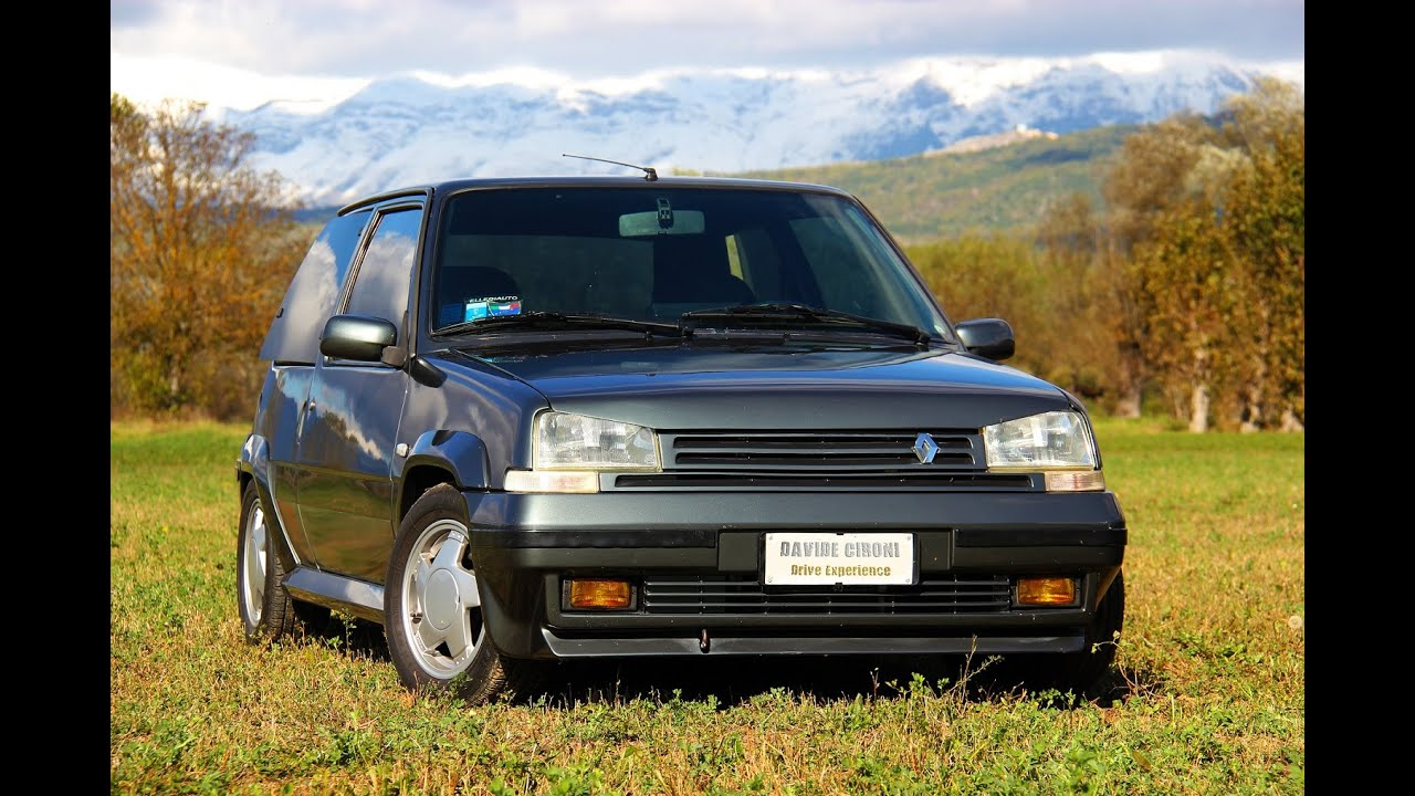 pure sound renault 5 gt turbo davide cironi drive experience youtube. Black Bedroom Furniture Sets. Home Design Ideas