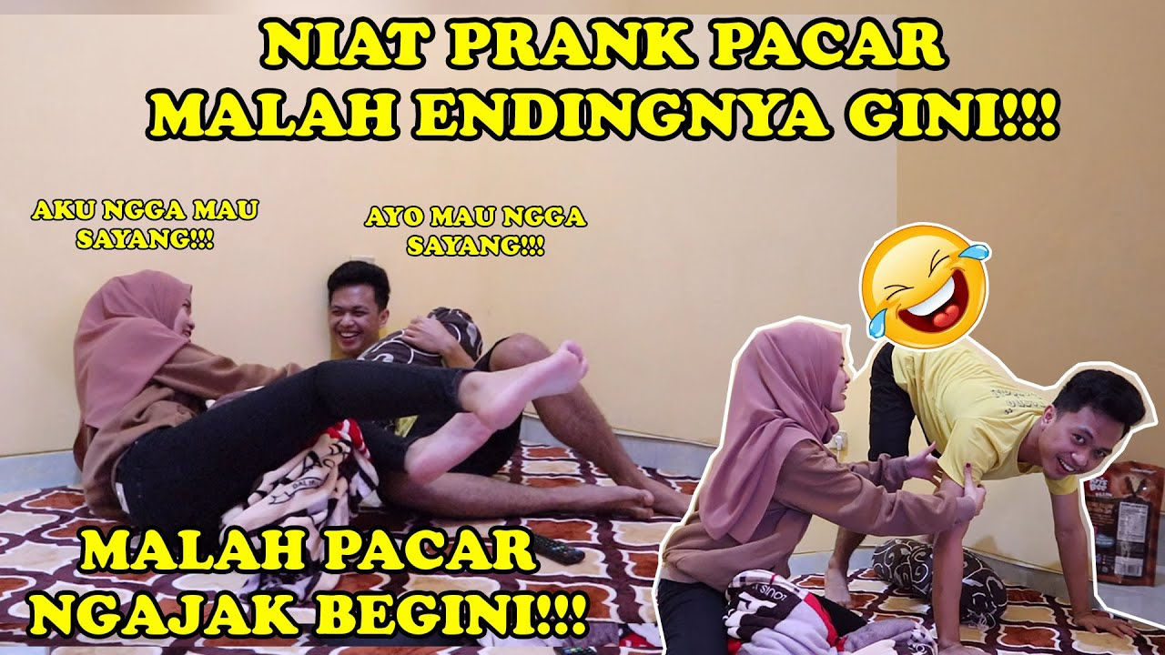 PRANK PACAR GAGAL MALAH TERJADI GINI!!! || GAGAL PRANK PACAR!!!