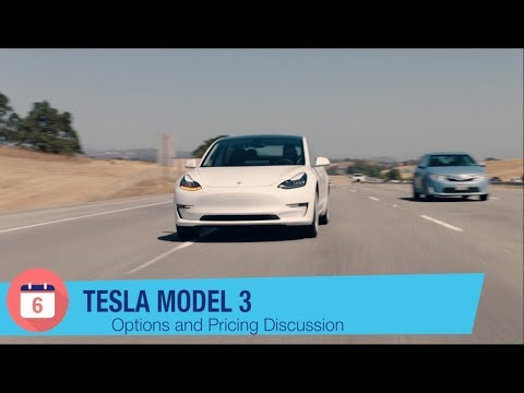 tesla model 3 options and pricing discussion youtube. Black Bedroom Furniture Sets. Home Design Ideas