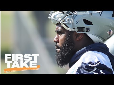 What Does Cowboys Signing Ronnie Hillman Mean For Ezekiel Elliott? | First Take | ESPN