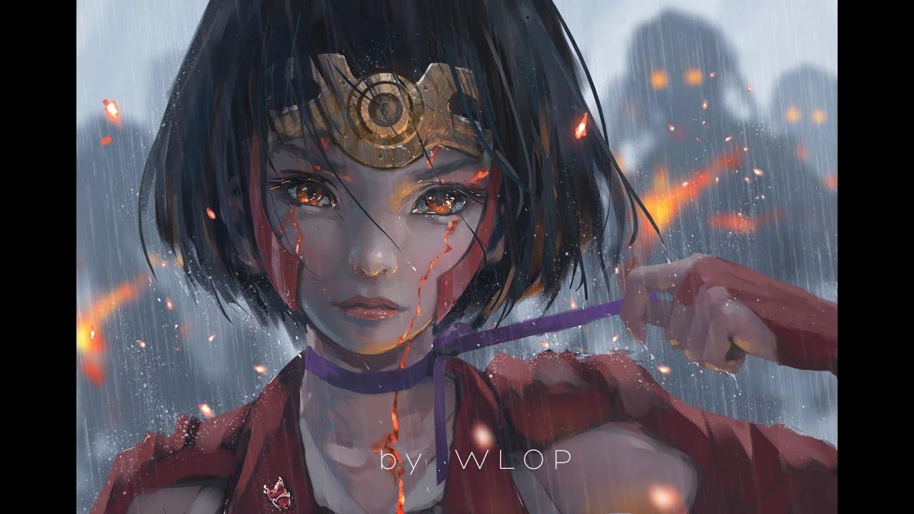 Sad Crying Girl Wallpaper Hd Aimer Through My Blood『kabaneri Of The Iron Fortress