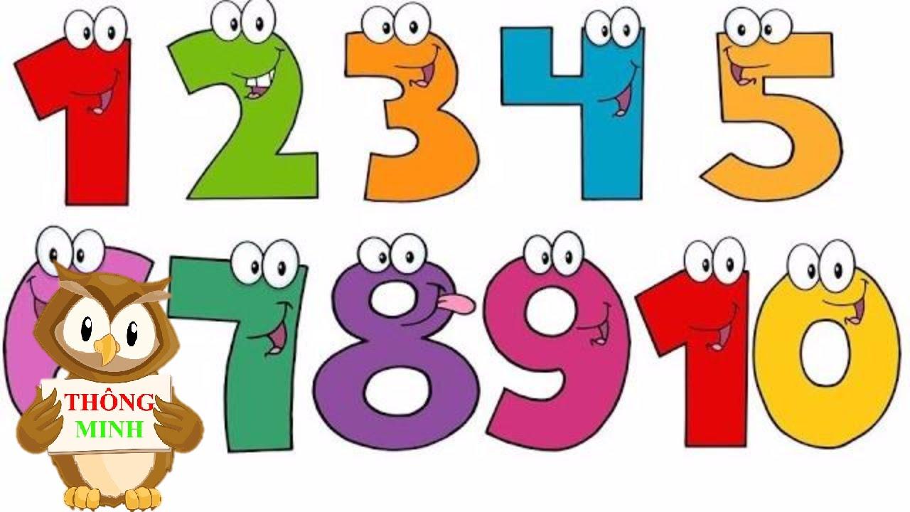 Dạy bé tập đếm số từ 1 đến 10 tiếng anh | em học đếm với hai bàn tay | Dạy Tiếng Anh cho trẻ em