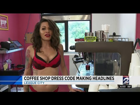 Coffee shop dress code making headlines