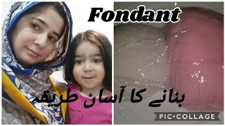 HOW TO MAKE FONDANT - NORMAL DAY IN OUR LIFE - SUNDAS IRFAN VLOGS