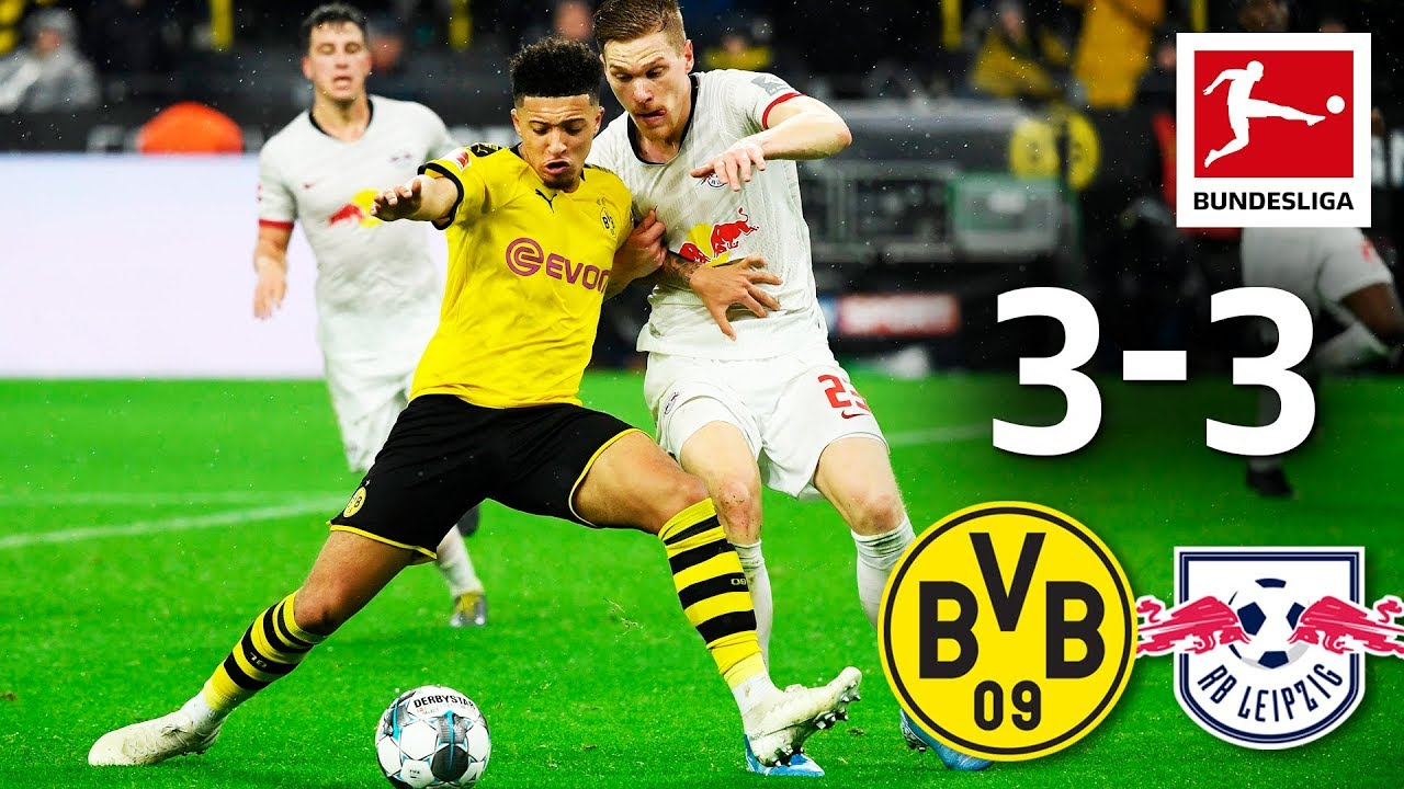 Borussia Dortmund Vs Rb Leipzig I 3 3 I Highlights I Werner Brace Brandt S World Class Skill Youtube