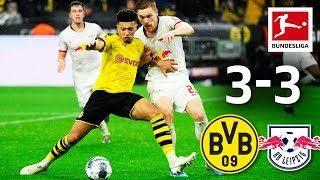 Borussia Dortmund vs. RB Leipzig I 3-3 I Highlights I Werner Brace & Brandt's World Class Skill