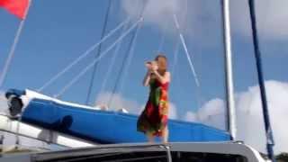 A Call to Sail. 2003 Leopard 47 Catamaran Charter Caribbean