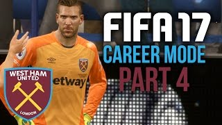 FIFA 17 Career Mode Gameplay Walkthrough Part 4 - TERRIBLE START (West Ham)