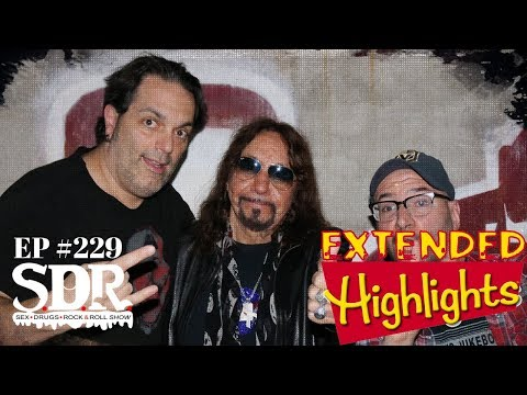 Ace Frehley Talks About His Music Upbringing + The Development of KISS l SDR Show #229 Highlights