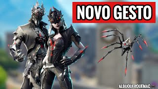 FORTNITE-SHOP OF ITEMS TODAY 21/10 | New Skin KNIGHT-SPIDER, NEW SKIN ARACNE and NEW GESTURE