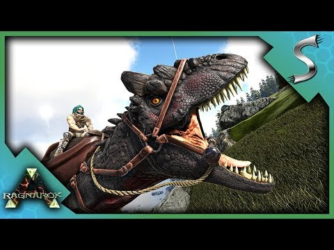 ALLOSAURUS PACK TAMING AND HUNTING! - Ark: RAGNAROK [DLC Gameplay S3E47]