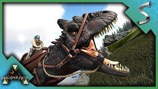 ALLOSAURUS PACK TAMING AND HUNTING! - Ark: RAGNAROK [DLC Gameplay S3E47]