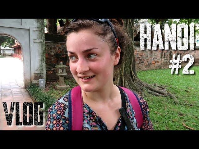Le TEMPLE de la LITTÉRATURE ! - Vlog HANOI #2 (Vietnam)