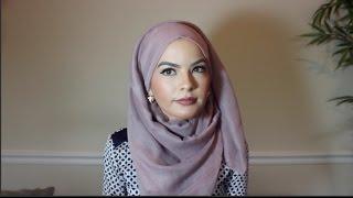 Simple Hijab Tutorial- OMAYA ZEIN