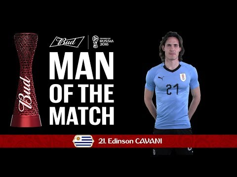 Edinson CAVANI (Uruguay) - Man of the Match - MATCH 49