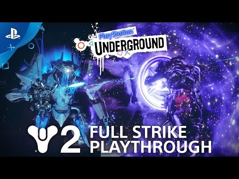 Destiny 2 Full Strike Gameplay: The Inverted Spire | PlayStation Underground