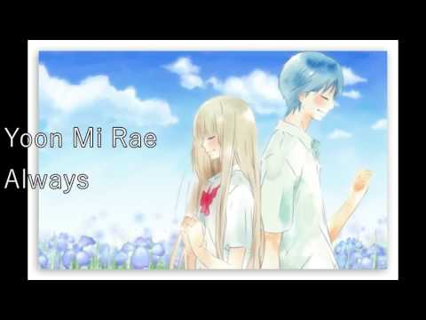 {NIGHTCORE} Yoon Mi Rae - Always