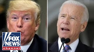 Fighting words from Trump and Biden