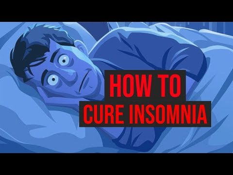 How To Cure Insomnia In 1 Minute