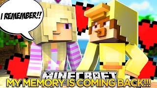 MY MEMORY IS COMING BACK w/ BABY DUCK!!!!- Baby Leah Minecraft Roleplay!.