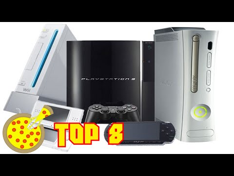 My Top 8 Favorite Video Game Consoles